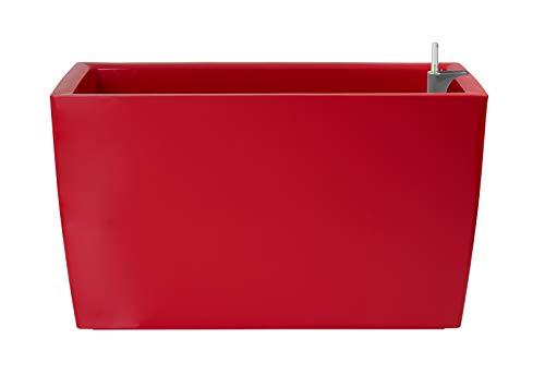 Artevasi Jardinera, Rojo, 30.5x76x45 cm, Marbella Auto 76 cm