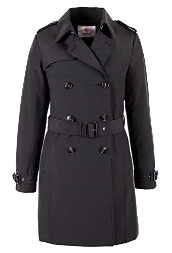 F3773 Damen Mantel Trenchcoat