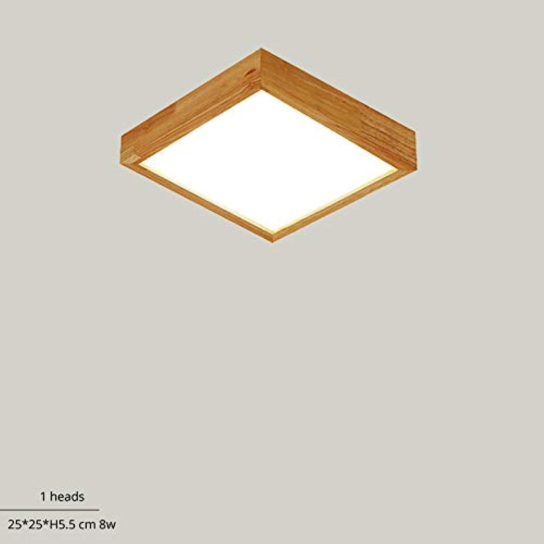 Hlzerne LED-Deckenleuchten für Schlafzimmer Wohnzimmer ...