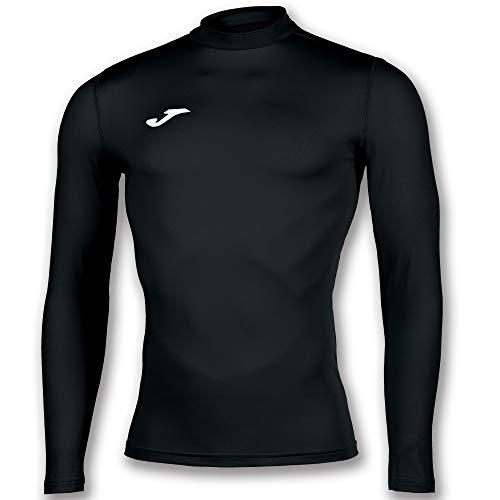 Joma Academy Camiseta Termica, Niños, Negro, 6XS-5XS