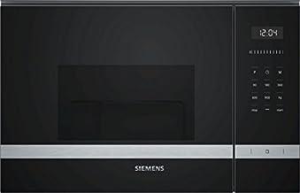 Siemens BE555LMS0 Integrado - Microondas (Integrado, Microondas con grill, 25 L, 900 W, Tocar, Acero inoxidable)