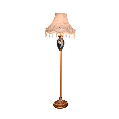 Staande Lamp Living Room Simple Modern geschilderde vloer Light Slaapkamer Nachtlampjes LED leeslamp Studie Thuis Metal Creative High Pole Light LED (Color : Bronze, Size : 50cm*157cm)