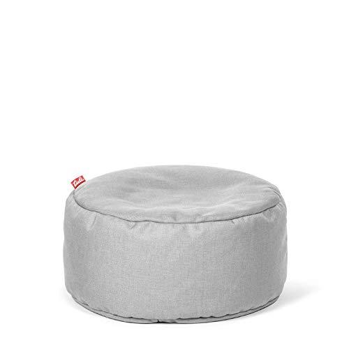 Tuli Puf Nicht Abnehmbarer Bezug - Universal Betongrau, Stoff, One Size