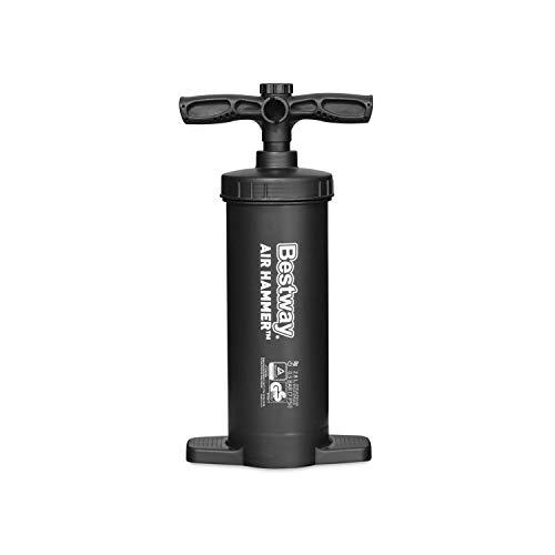 Bestway Luftpumpe Doppelhubkolbenpumpe Air Hammer 48 cm, Schwarz