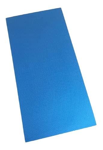 Colchonete Eva Tapete Yoga 100cm X 50cm X 10mm Azul Royal