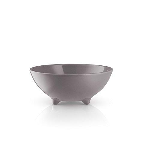EVA SOLO 567176 Schale, 300 ml, Glasiertes Steinzeug, Porzellan, Nordic Grau, 16 x 15,6 x 7,2 cm