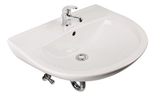 Professional Start Waschtisch-Set | Komplettset | 60 cm | Weiß