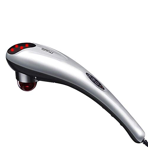 Handheld Deep Tissue Massager Percussion Massage Machine for Muscles Back Neck Shoulder Leg- Hand Held Electric Back Massager for Neck and Back Full Body Pain Relief and RelaxationHand held Deep Tissu
