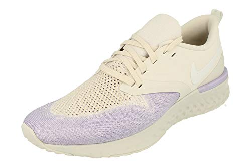 Nike Mujeres Odyssey React 2 Flyknit Running Trainers AH1016 Sneakers Zapatos (UK 9.5 US 12 EU 44.5