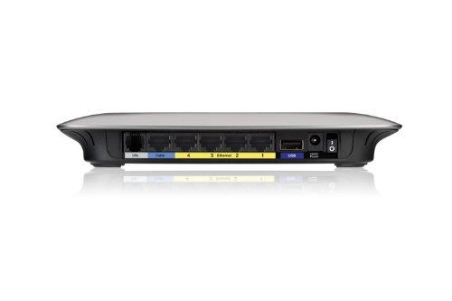 Linksys Advanced Wireless-N ADSL2+ Modem Router X3000 - Wireless Router - DSL