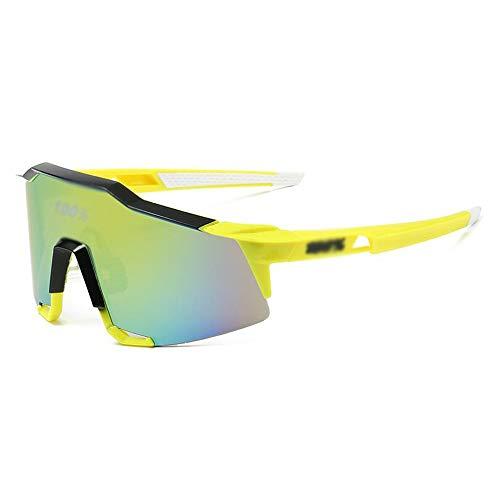 Mawson Cómodo y versátil Nuevas Gafas de Ciclismo Gafas de Sol Deportivas de Deportes de Ciclismo Externo Moda Casual (Color : 1)