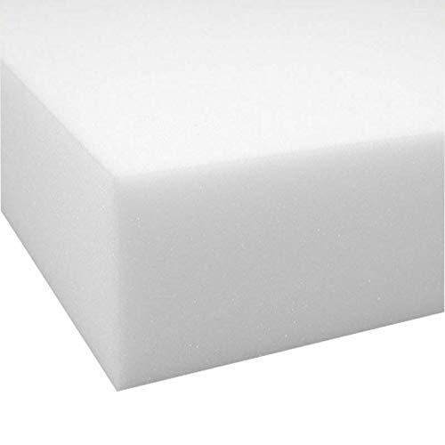 Almohadillas de espuma de alta densidad de repuesto para asiento de sofá (43 x 48 cm, espuma de tapicería de 15 cm)