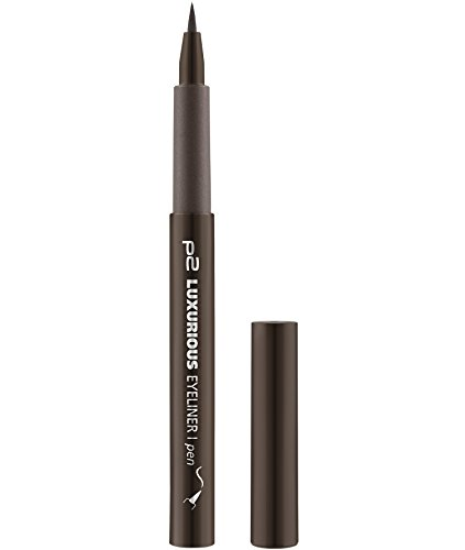 p2 cosmetics Luxurious Eyeliner Pen 020, 3er Pack (3 x 1 ml)