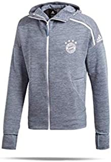 2018-19 FC Bayern Core 18 Rain Jacket-Grey M