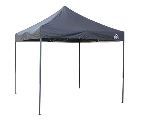 All Seasons Gazebos 2.5 x 2.5m Heavy Duty, Fully Waterproof Pop up Gazebo (Black)