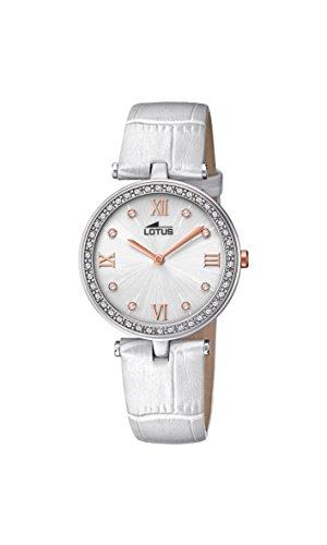 Lotus Watches Reloj Análogo clásico para Mujer de Cuarzo con Correa en Cuero 18462/1