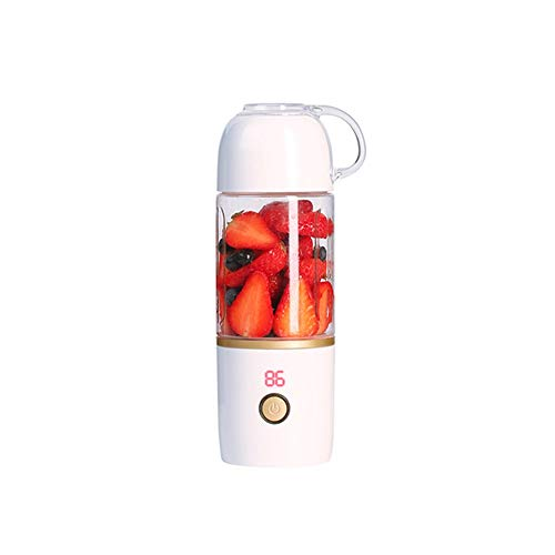 Why Should You Buy Electric Fruit Juicer, Portable Juice Cup, 400 Ml Juicer With 6 Blades, 3600 MAh ...