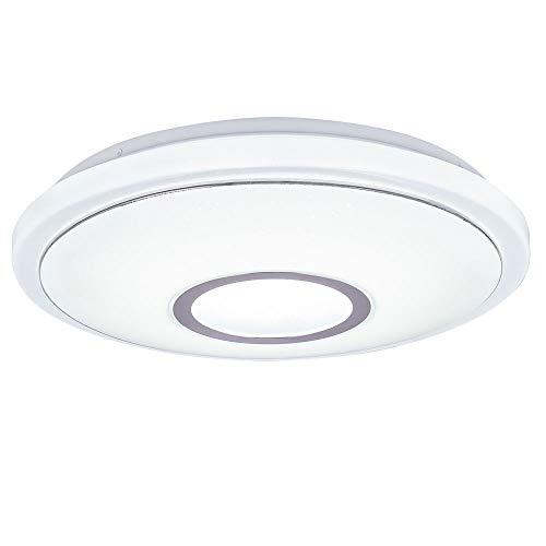 LED Decken Lampe Wohnraum Sternen Himmel Effekt CCT Leuchte Chrom Ring Strahler Bahag 41386-16BH