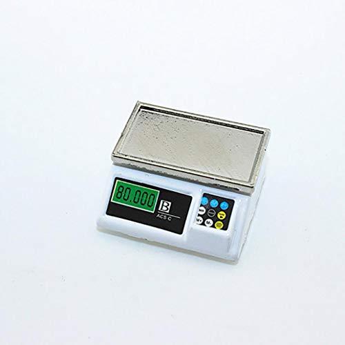 perlo33ER Mini elektronisches Modell Puppenhaus Miniatur Spielzeug Puppenhaus 1: 6 1:12 Geschenk