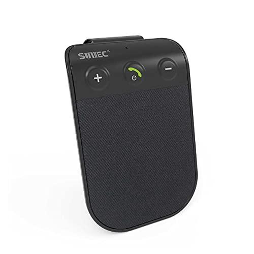 SUNITEC Hands Free Bluetooth Car Phone Kit - Bluetooth Car Speaker AUTO...