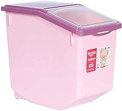 Nfudishpu Storage Box Kitchen Food Storage Container Rice Nfudishpu Storage Box Plastic Seal Moisture Proof 10kg/15kg Cere...