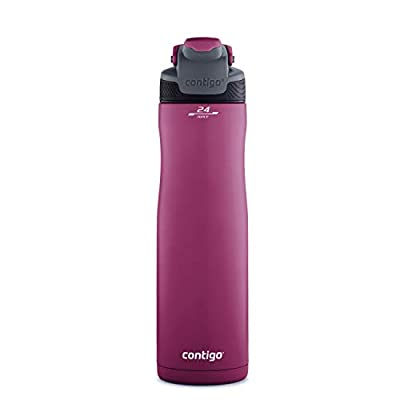Contigo Autoseal Chill Water Bottle, 24 oz, Passion Fruit
