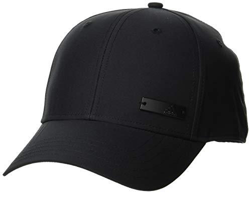 adidas BBALLCAP LT MET Hat, Black/Black/Black, OSFM