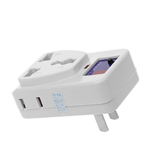 LEXIANG Enchufe de Interruptor de Salida de Control Remoto inalámbrico infrarrojo infrarrojo IR de Ahorro de energía 1PC