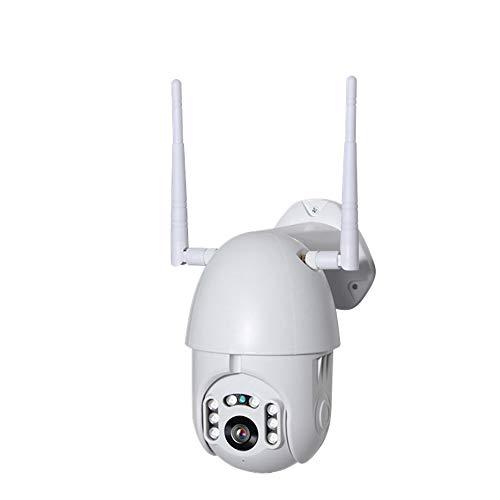 PTZ bewakingscamera met 50 ft nachtzicht bewegingsdetectie tweeweg-audio wifi 4 mm lens 4 x digitale zoom Full HD 1080P Pan Tilt Dome camera voor binnen en buiten ondersteuning SD-kaartslot