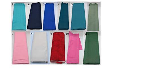 Stoffpaket uni verschiedene Größen Baumwolle Stoffreste Webware Patchen Patchwork Baumwollstoff Restepaket unifarben einfarbig blau grün rosa rot