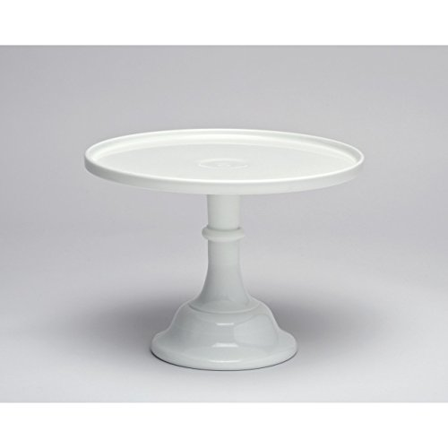 Mosser Glass round cake stand 10 inch