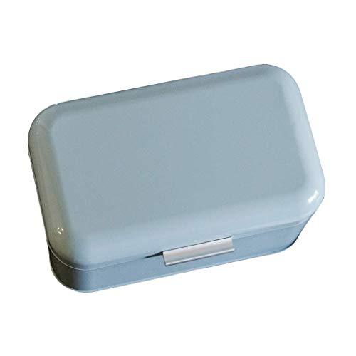 LYB Brotbox Brotkasten Brotkasten Metall-Speicher-Fall-europäische Art Retro Brot Gebäck Küche Storage Container Bule