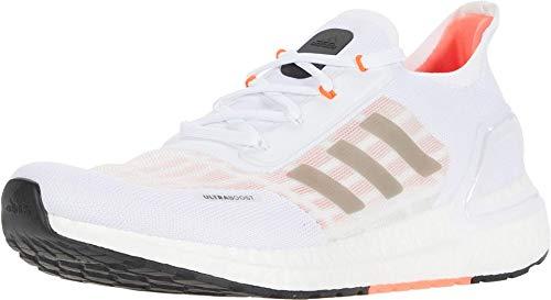 adidas Men's Ultraboost A.RDY Sneaker, White/Black/Solar Red, 10 M US