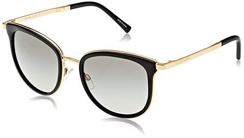 Michael Kors Damen Adrianna I 110011 54 Sonnenbrille, Schwarz (Black/Gold/Grey Gradient)