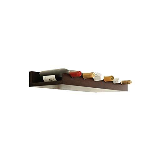 Accueil Outils de cuisine Gadgets Casier à vin mural et porte-verre Accessoires de décoration de bar pour la maison et la cuisine multi-style et multicolore en option (couleur: Vin rouge Design: