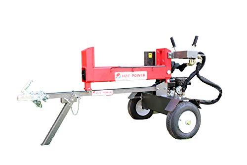 HZC Power 18 Tonnen Holzspalter Brennholzspalter Doppelspalter Hydraulikspalter 2 Hand Bedienung Spalter liegend HS18165