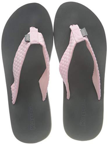 Kappa Womens PAHOA flip-Flops, Rot Rosé Grey 2116, 41 EU