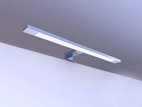 LED Badleuchte Badlampe Spiegellampe Spiegelleuchte Möbellampe 450mm alu eloxiert