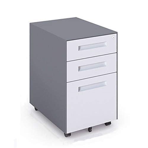 Gabinetes de archivadores de oficina Cajones Movables Gabinetes Armarios de impresora Gabinetes de almacenamiento móvil Gabinetes de metal con cerraduras de almacenamiento bajo Gabinetes Armario de al