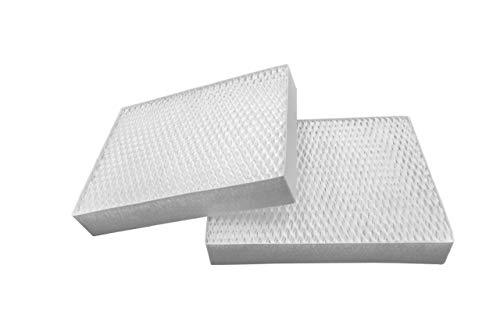 vhbw Filtre à air de Rechange Blanc pour humidificateur, épurateur d