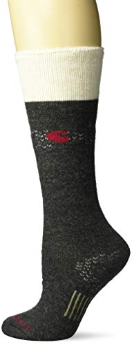 Carhartt Cold Weather Boot Sock Calcetines, gris oscuro jaspeado, M para Mujer