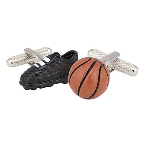 The Cufflink Store Basketball Boot & Ball Manschettenknöpfe