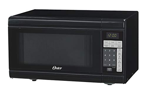OSTER Compact-Size 0.9-Cu. Ft. 900W Countertop Microwave Oven, Black