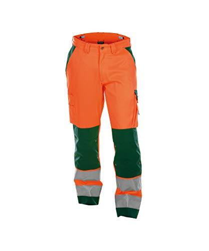 Dassy Unisex Buffalo 290G Arbeitshose, Arancione/Verde, 46