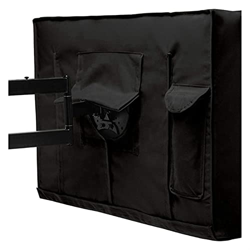 cyg Protector TV Exterior, Funda TV Exterior Cubierta Protección Solar, Transpirable Cubierta De TV para Televisor LCD LED Protector TV Exterior Funda para Televisor (Size : 22-24inch)