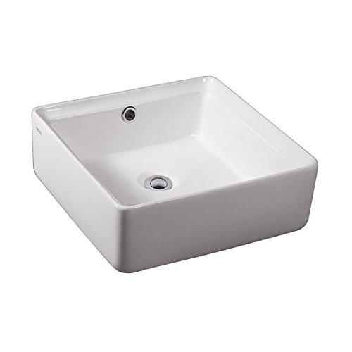 EAGO Design Aufsatz-Waschbecken BA130 Waschschale mit nanobeschichteter Oberfläche