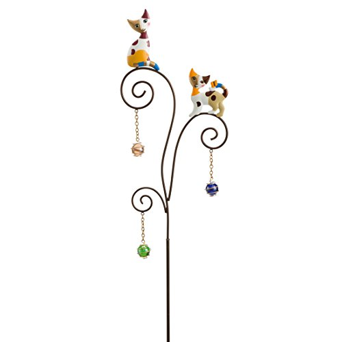 Goebel Bastone decorativo Blumenstecker, Metall-Kombi, bunt, 19 x 0.2 x 119 cm