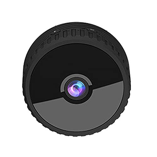 CHENPENG Cámara espía Mini cámara Oculta WiFi 4K HD Cámara de Seguridad portátil para Interiores y Exteriores, con aplicación de teléfono, detección de Movimiento, visión Nocturna