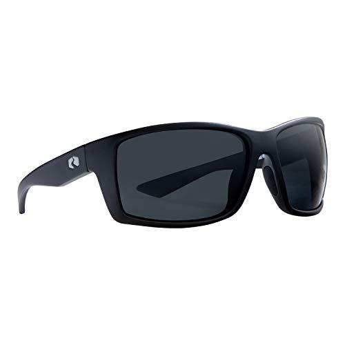 Rheos Eddies Sport Style Floating Polarized Sunglasses | 100% UV Protection | Floatable Shades | Ideal for Fishing and Boating | Anti-Glare | Unisex | Gunmetal | Gunmetal