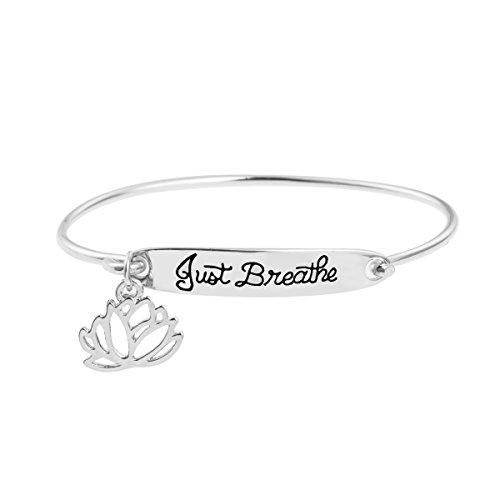 Inspirational Bangle Bracelet for Women